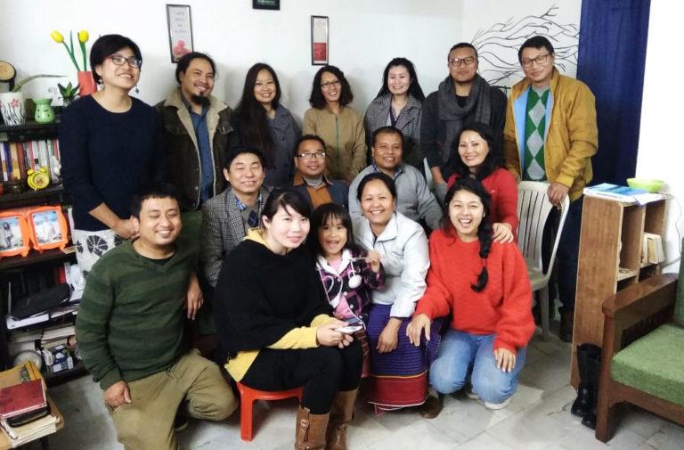 YCA Team at Pastor Heli's residence