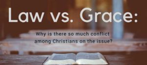 "Critics says, ""Grace preachers are against the law"""